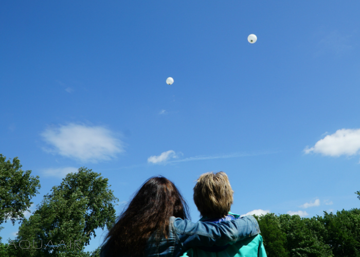 Ballonverstrooiing-kralingseplas-rotterdam