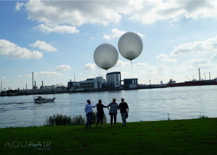 ballonverstrooiing-asverstrooiing-met-heliumballon-delta-hotel-vlaardingen