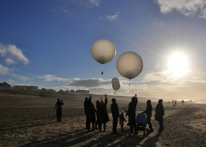 asverstrooiing per heliumballon bergen aan zee ballonverstrooiing