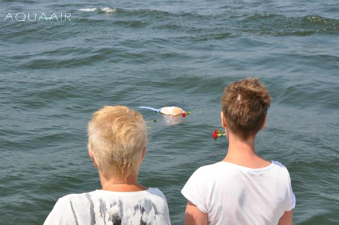 Asbijzetting-scheveningen-zee-urn-schelp