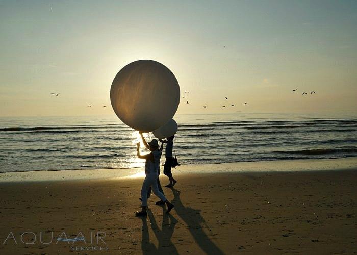 ballonverstrooiing-zandvoort-asverstrooiing-heliumballon
