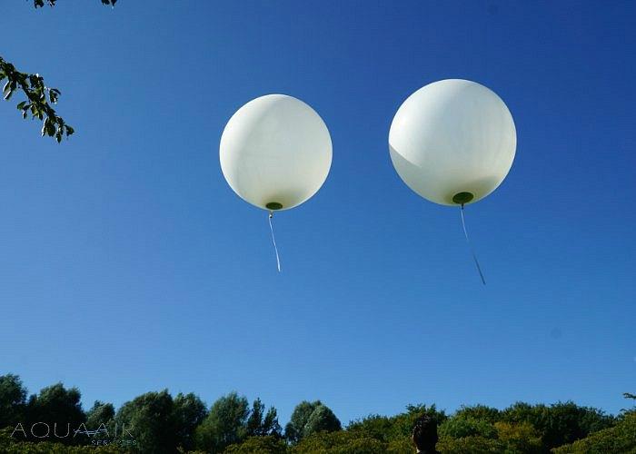Ballonverstrooiing -maasland-achtertuin-heliumballonverstrooiing